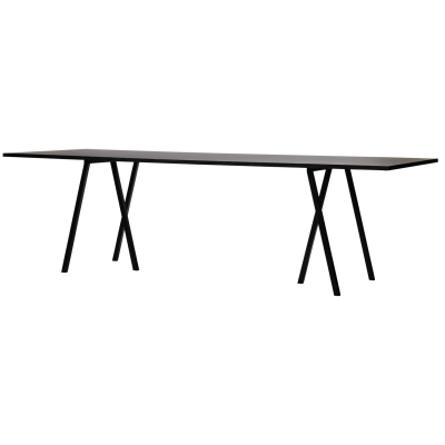 Loop Stand Table bord 200 cm svart