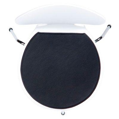 Stolsdyna 3101 basic läder, svart