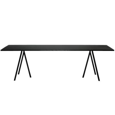 Kök köksbord hay : Loop Stand Table bord 250 cm, svart frÃ¥n Hay – Köp online pÃ¥ Rum21.se
