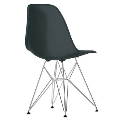Eames Chair DSR kromade ben basic dark