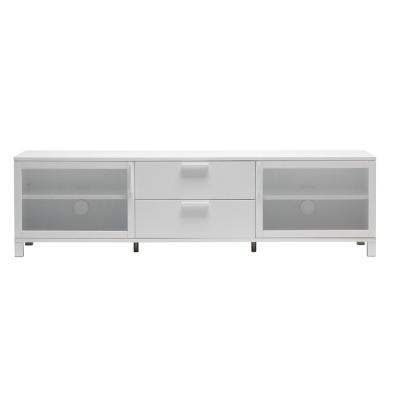 Azzaro sideboard 180x50x50 cm, helvit/frostat g...