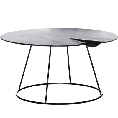 Breeze bord 80 cm, med våg, svart