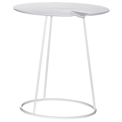 Breeze bord, 46 cm, med våg, vit