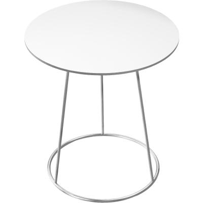 Bild av Breeze bord, 46 cm, slät skiva, vit