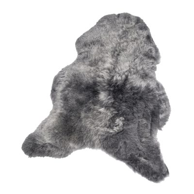 Shorthair fårskinn 50x100, silver