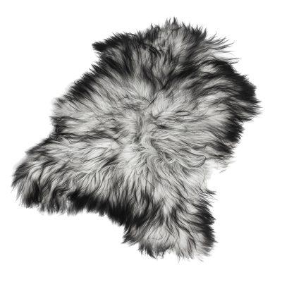 Longhair fårskinn 70x110, naturligt grå