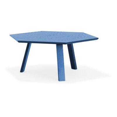 Bild av Hexagon bord Ã?90, azurblå