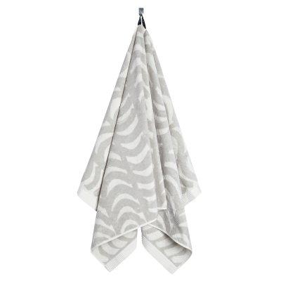 Rautasänky badhandduk 75x150, grå