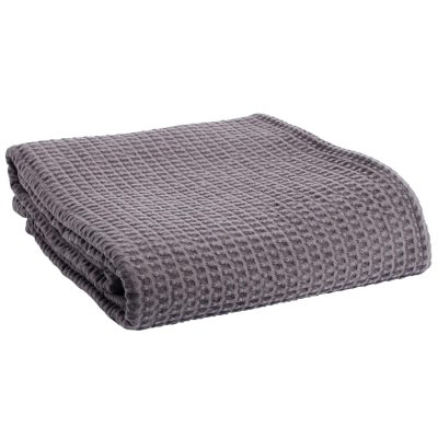 Comfort överkast dubbel, grå