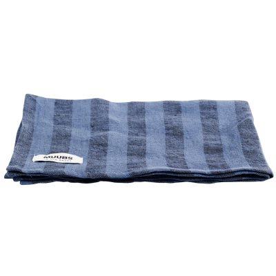 Towel kökshandduk, blå/svart