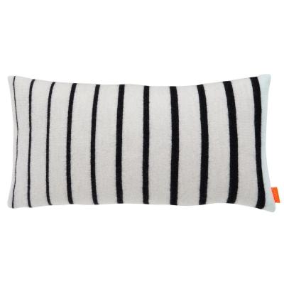 Simple kudde, svart/vit