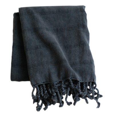 Hamamhandduk 170×90 dusty grå