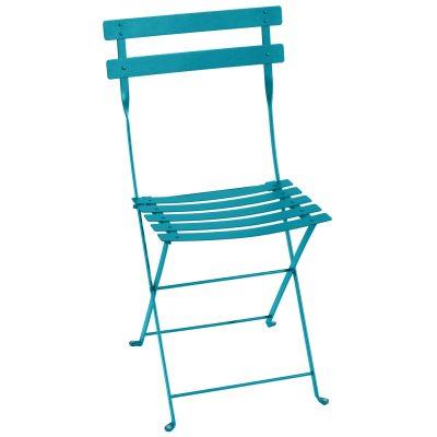 Bistro Metal stol turquoise