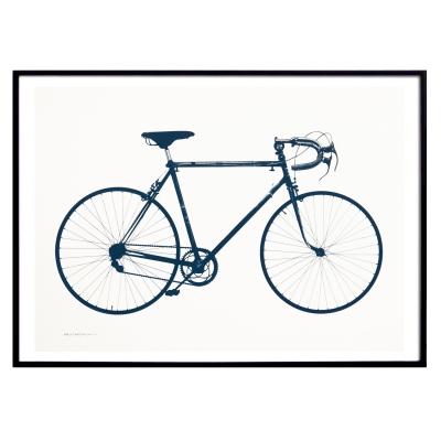 Bild av Världsmästarcykeln poster, deep blue