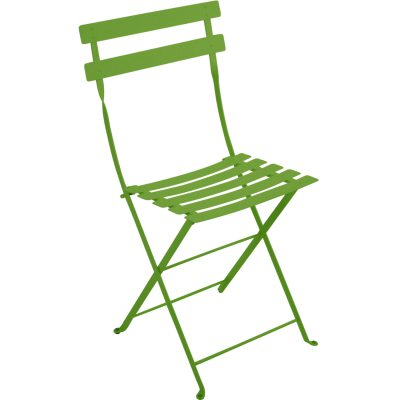 Bistro Metal stol grass green