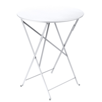 Bistro bord Ø60 cotton white