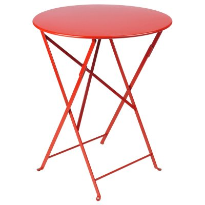 Bistro bord ø60 poppy red