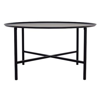 Bild av Domo Round Cross bord L, svart