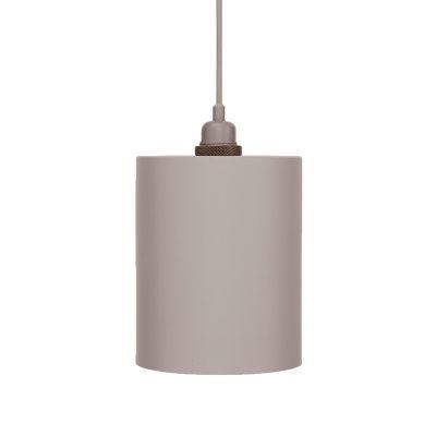 Cylinder lampskärm M grå