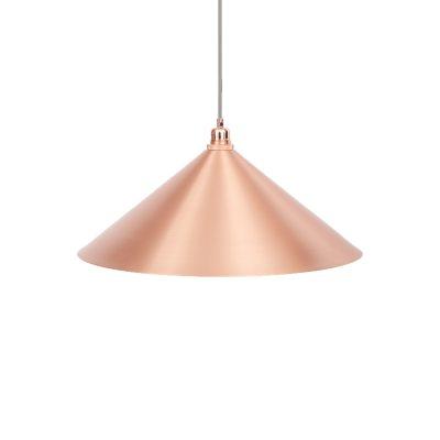Bild av Cone lampskärm L, koppar