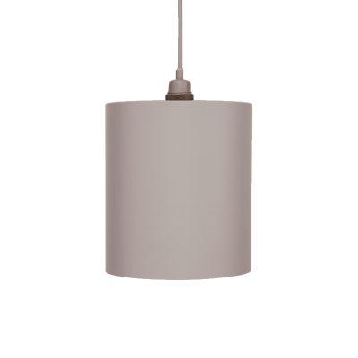 Cylinder lampskärm L grå