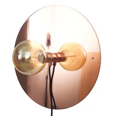 Bild av Wall Frama lampa M, koppar