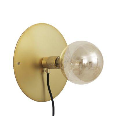 Bild av Wall Frama lampa M, mässing