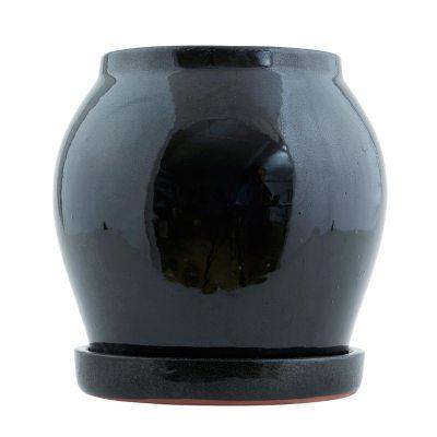 Bild av Antique kruka S, svart