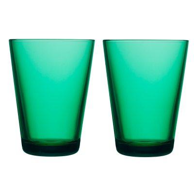 Kartio allglas 2-pack smaragdgrön