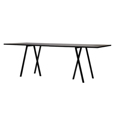 Loop Stand Table bord 180 cm svart