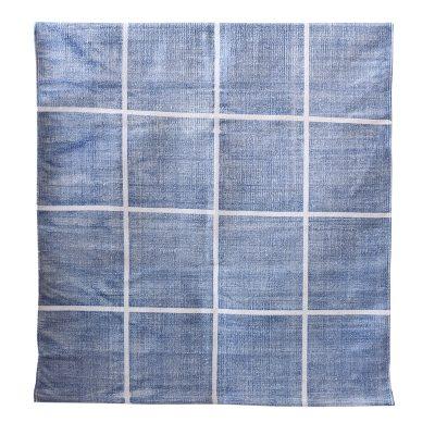 Square matta 80×200 blå