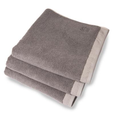 Dirty handduk 70x50, graphic/light grey