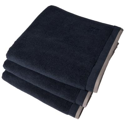 Dirty handduk 70x50, denim/mid grey