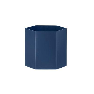 Bild av Hexagon kruka L, blå