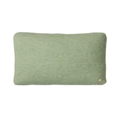 Quilt kudde 60×40 grön