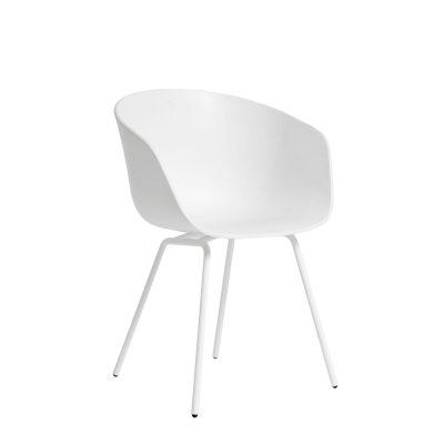 About a chair 26, vit/vit