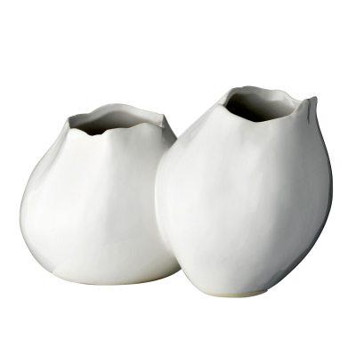 Bild av Two-split vas, vit
