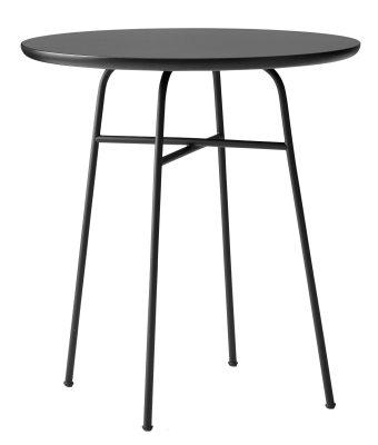 Afteroom cafébord, svart