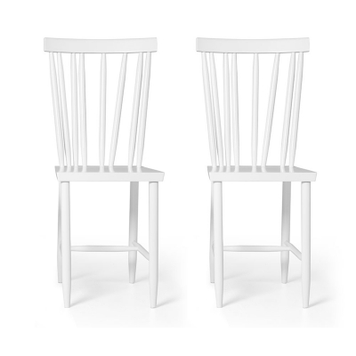 Family Chairs no4 stol 2-pack vit