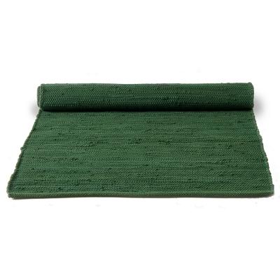 Cotton matta med kant 170×240 guilty green