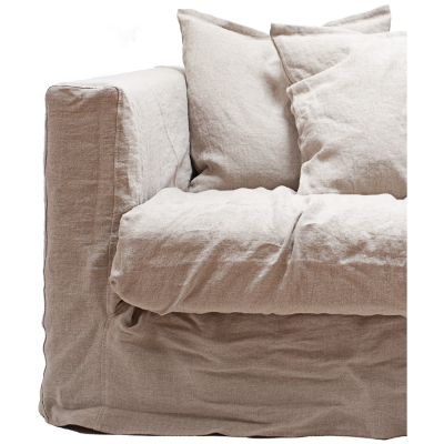 Le Grand Air Loveseat klädsel Savage Linen