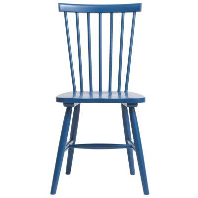 Wood pinnstol H17 blå
