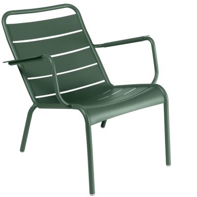 Luxembourg loungestol, cedar green