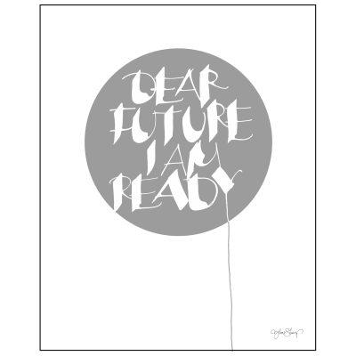 Bild av Dear Future poster