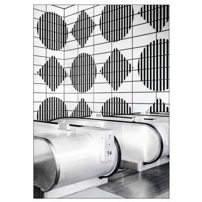 Bild av London Geometric poster