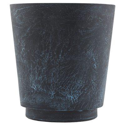 Bild av Planter kruka L, blå/marmor