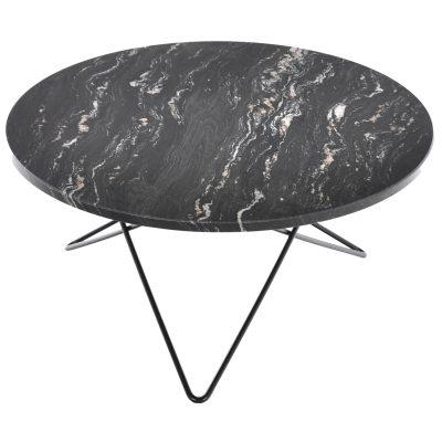 Bild av O Soffbord, svart marmor/svart