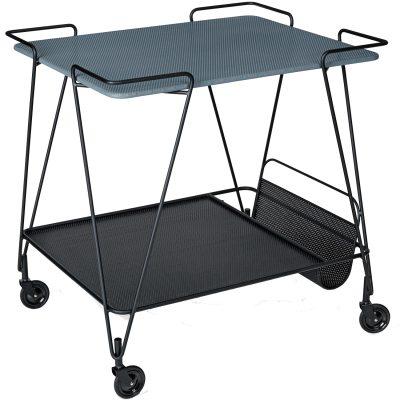 Matgot serveringsvagn, grå