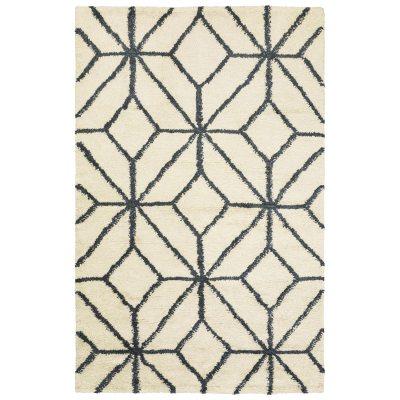 Ayur matta vit/grå melange 230×320