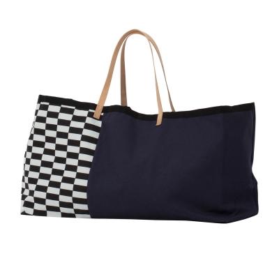 Herman väska L blå